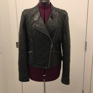Burberry Brit Spurcroft Leather Jacket